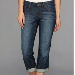 Lucky brand sweet crop 12/31 high rise waist